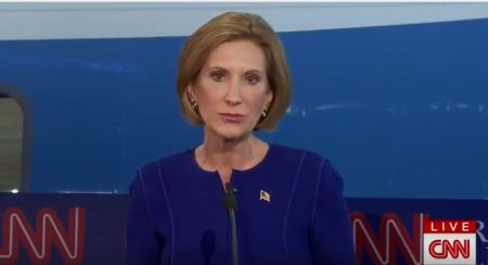 Carly on Planned Parenthood CNN Debate