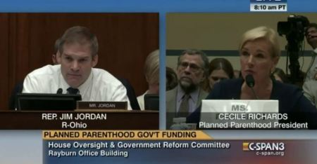 Cecile Richards Planned Parenthood 2015 testifies COngress 2