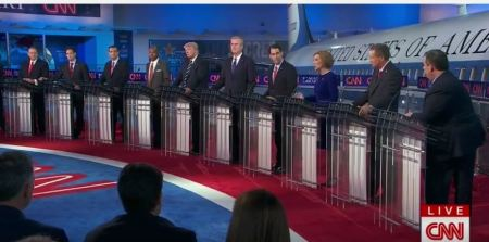 CNN GOP Debate Sept 2015