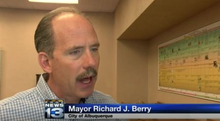 Mayor Richard Berry