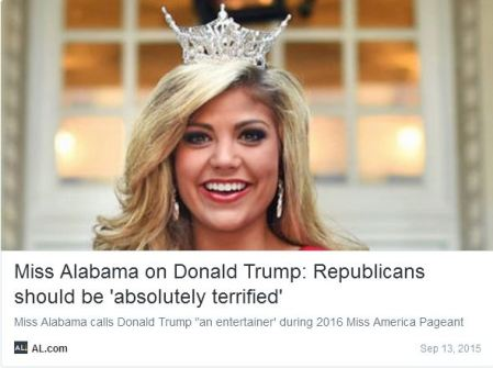 Miss Alabama Trump