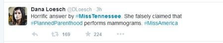 Miss Tennessee Planned Parenthood Twitter 2