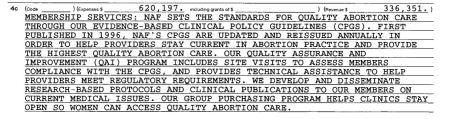 NAF CLinical STandards