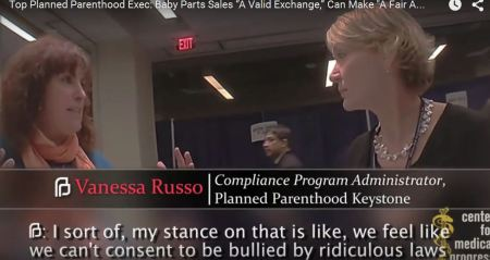 Vanessa Russo Planned Parenthood ridiculous laws harvesting baby parts