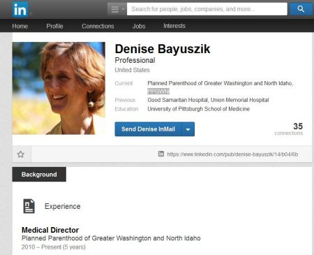 Denise Bayuszik Planned Parenthood