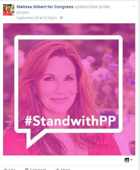 Melissa Gilbert Planned Parenthood Little House on Prairie