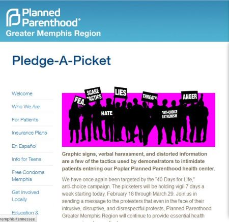 PP PLedge a picket 40 days