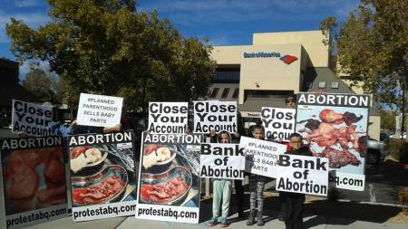Bank of America ProtestACQ abortion 057509_n