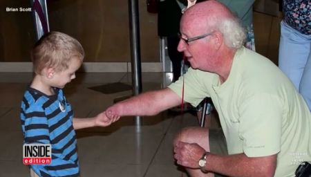 Karille and Grandpa disability adoption