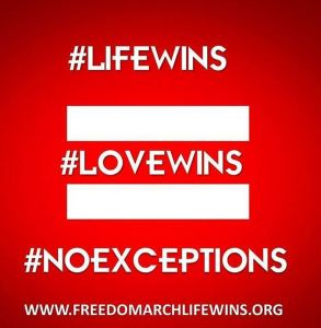 LifeWins Abortion march