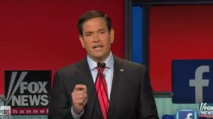 Rubio abortion fox debation