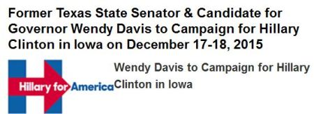 Hillary Wendy Davis abortion