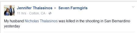 Jennifer Tweets Nicholas Dead