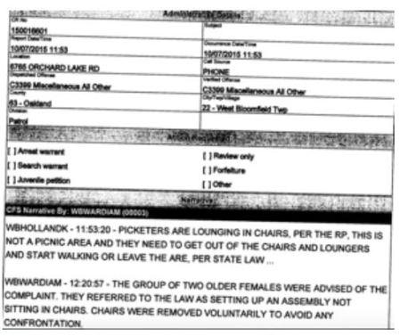 Kalo Police Report