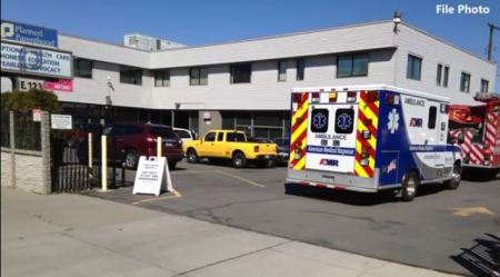 Planned Parenthood Spokane ambulance