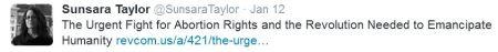 Sunsara Taylor Stop Patriarchy