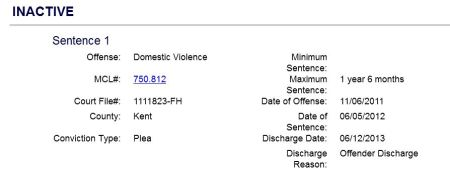 Thomas J Gordon domestic violence charges