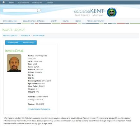 Thomas James Gordon abortionist Kent County