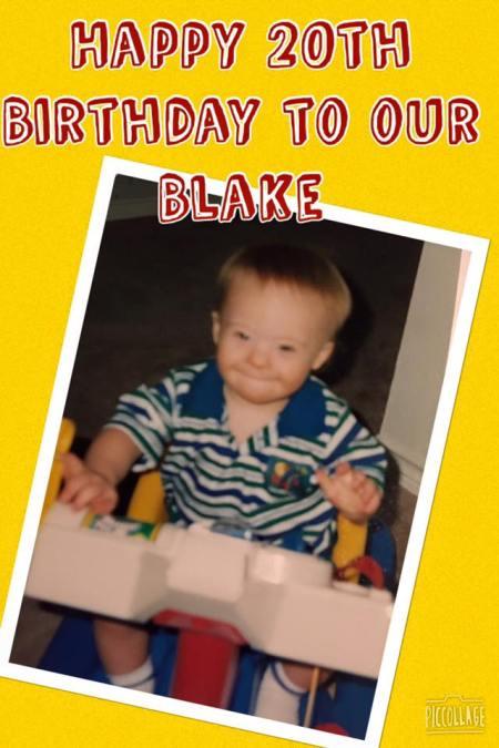 Blake Pyron now age 20 (image credit: Blake's Facebook page)