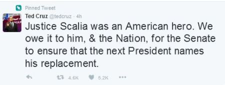 Ted Cruz Scalia
