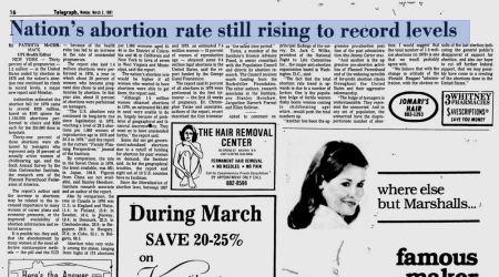 1981 GUttmacher research arm planned parenthood