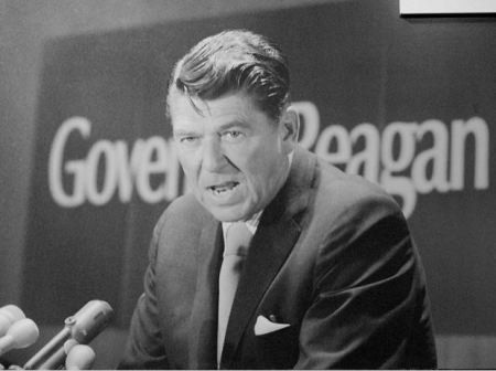GOvernor ROnald Reagan'