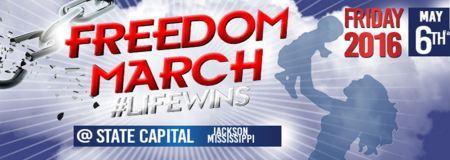 Freedom March Life Wins rape abortion 2