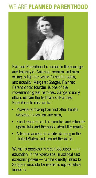 Racist Margaret Sanger praised by Planned Parenthood