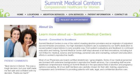Summit Medical Center website