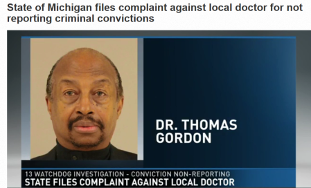Thomas J Gordon abortionist arrested NAF doctor