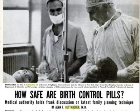 Image: Guttmacher article on Birth Control