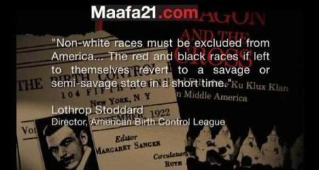 Image:Lothrop Stoddard racist quote (Maafa21)