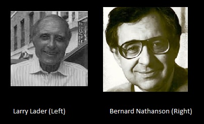 Image: Larry Lader and Bernard Nathanson