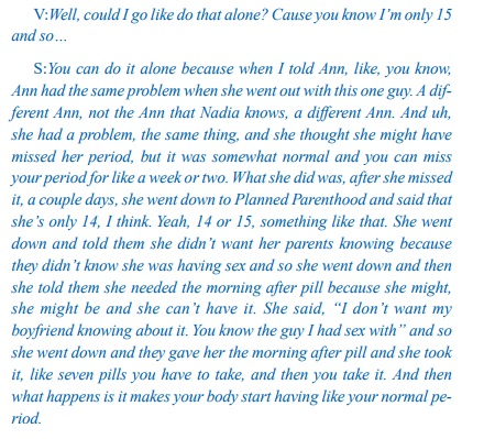 Image: 15 year old sexual abuse victim coached by predator to go to Planned Parenthood