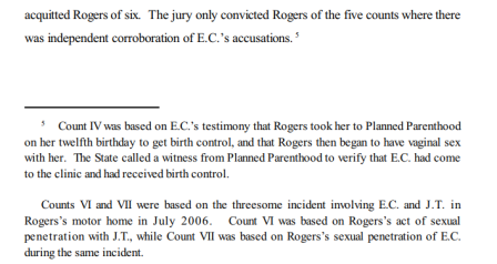 Image: Jason Thomas Rogers took victim to Planned Parenthood