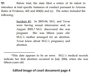 Image: Sexual abuse victim taken for abortion
