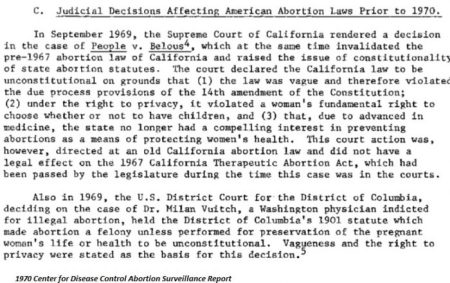 Image: 1969 CDC Judicial Decisions affecting abortion