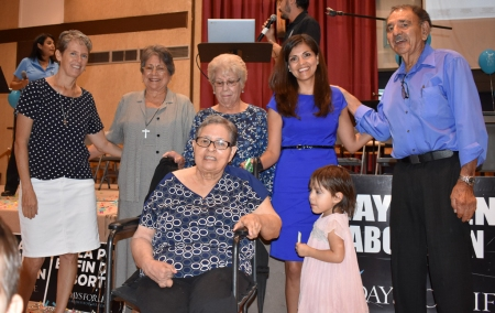 Image: Prolifers honored by Coalition for Life SW