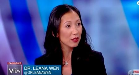 Image: Leana Wen , Planned Parenthood president on The View