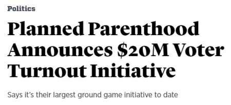 Image: Planned Parenthood commits $20 million to 2018 midterm election (Screen image: Roll Call)