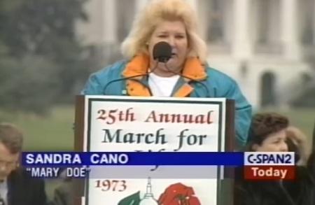 Image: Sandra Cano was Doe in the Doe v Bolton Supreme Court abortion case