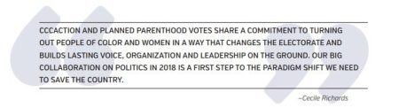 Image: Center for Community Change works with Planned Parenthood