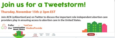 Image: Abortion Care Network Tweetfest (Image: ACN Twitter)