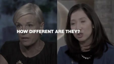 Image: Cecile Richards and Leana Wen presidents of Planned Parenthood
