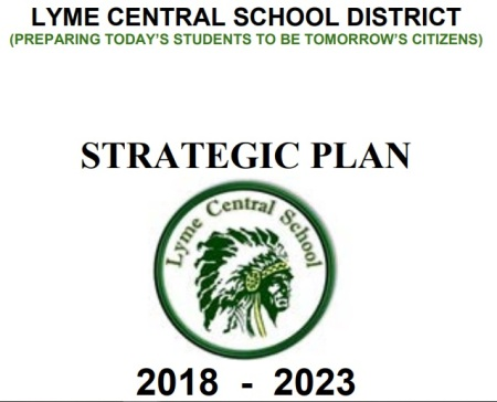 Image: Lyme Central School District plans field trip to Planned Parenthood plan (Image 2018-2023 Strategic Plan)