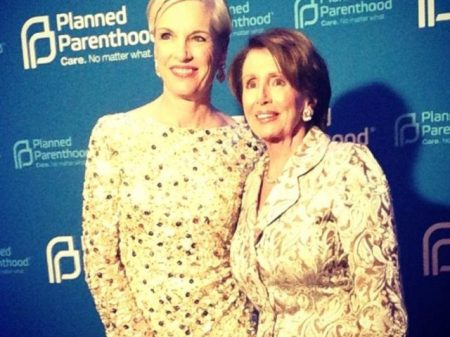 Image: Nancy Pelosi and former Planned Parenthood Prez Cecile Richards