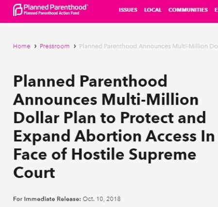 Image: Planned Parenthood plan to expand abortion 2019