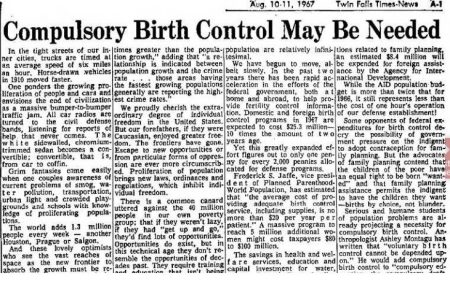 Image: Compulsory Birth Control article