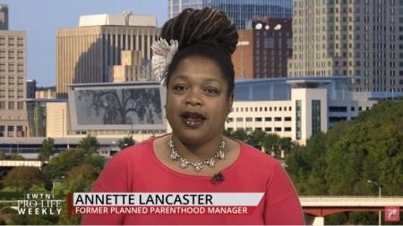 Image: Annette Lancaster former Planned Parenthood manager
