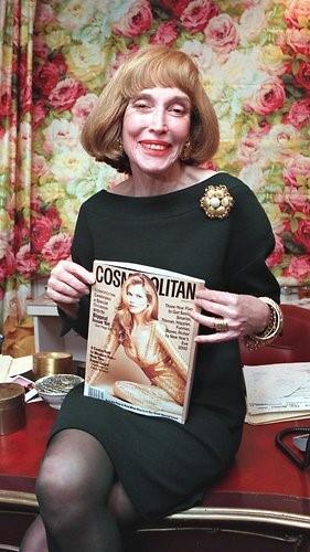 Image: Helen Gurley Brown, Cosmopolitan editor